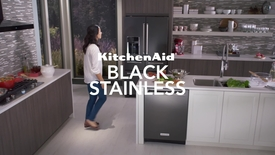 Thumbnail for entry Black Stainless Appliances - KitchenAid Brand