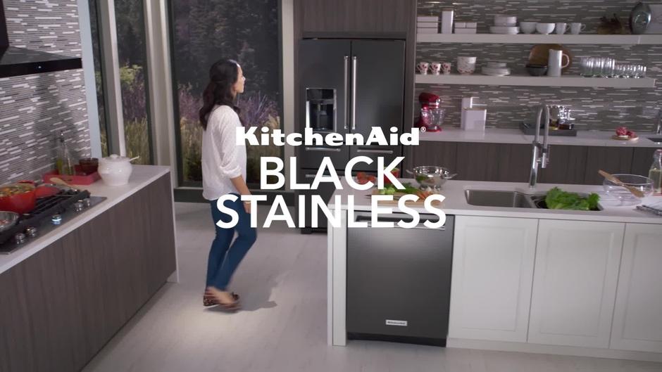 Beau Black Stainless Appliances   KitchenAid Brand
