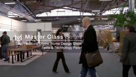 Thumbnail for entry Architectecturl Digest Home Design Show Panel - Taste Technology