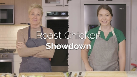 Thumbnail for entry Roast Chicken Showdown with the Yummly® Smart Thermometer