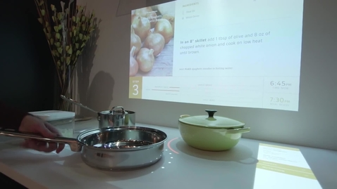Thumbnail for entry Interactive Kitchen of the Future 2.0 - Whirlpool CES