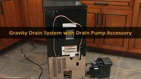 Thumbnail for entry 10094-S-UE-17 Ice maker - gravity Drain pump with Drain accessory