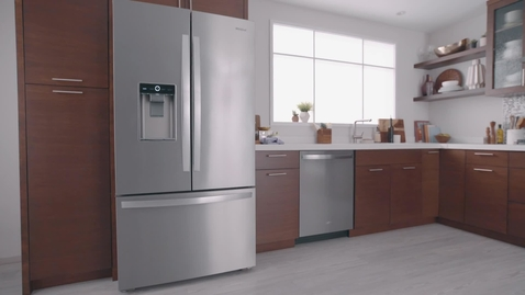 Thumbnail for entry Whirlpool Counter-Depth French Door Bottom Mount Refrigeration