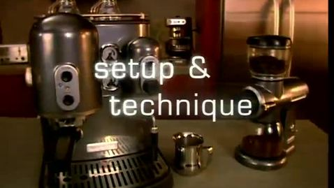 Thumbnail for entry Espresso Maker Setup and Technique - KitchenAid Pro Line