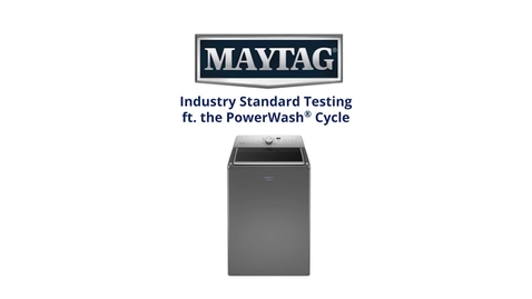 Thumbnail for entry Cleaning Testing - Maytag Top Load Laundry