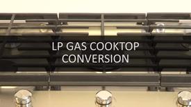Thumbnail for entry Cooktop LP Gas Conversion
