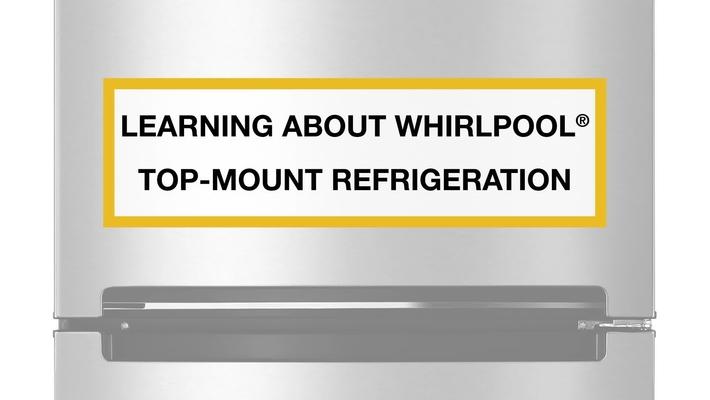 Winning Features on Whirlpool® Top-Mount Refrigerators
