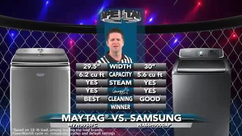 Competitive Comparison - Maytag Top Load Laundry