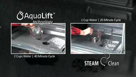Thumbnail for entry AquaLift vs. SteamClean - Cooking