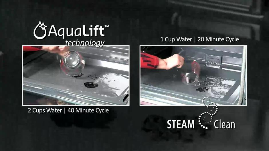 AquaLift vs. SteamClean - Cooking - LEARN Whirlpool Video Center
