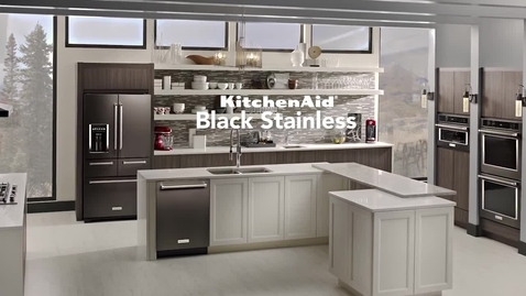 Thumbnail for entry KitchenAid Black Stainless Evolution