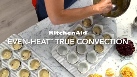 Thumbnail for entry Even Heat True Convection - KichenAid Double Oven Free-Standing Range