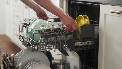 Thumbnail for entry EZ-2-Lift™ Adjustable Upper Rack - Whirlpool Brand