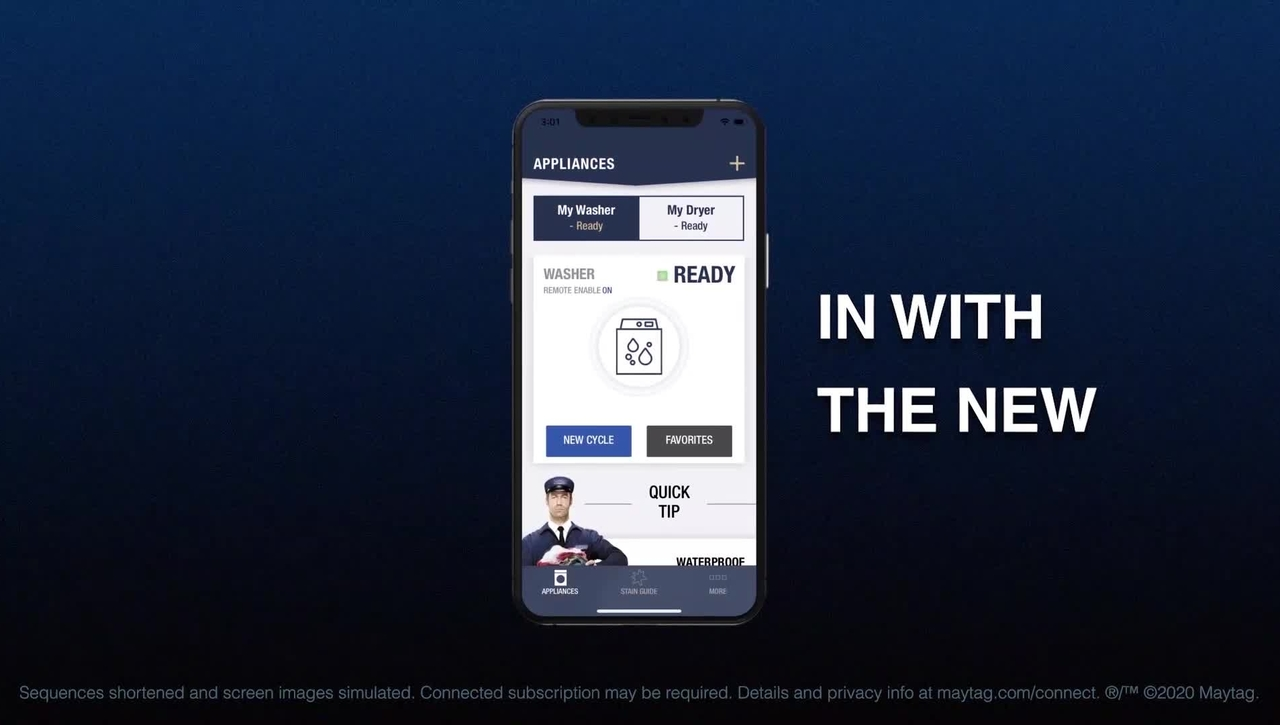Maytag® App - An App You Can Depend On