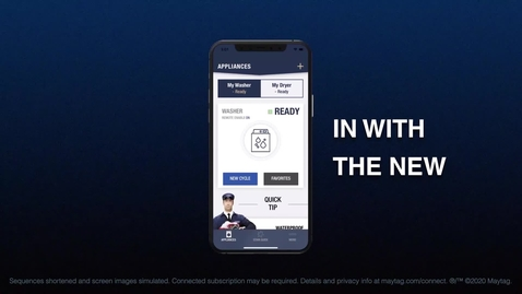 Thumbnail for entry Maytag® App - An App You Can Depend On