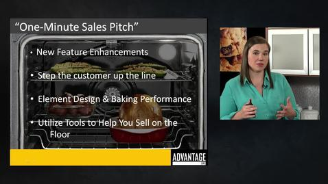 Thumbnail for entry Freestanding Ranges One Minute Sales Pitch - Advantage Live - Whirlpool Brand