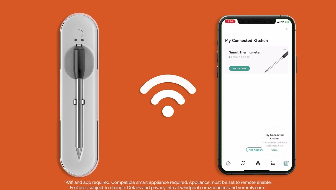 Connected Cooking with the Yummly® Smart Thermometer