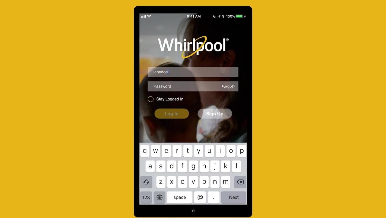 Whirlpool® Smart Appliance App