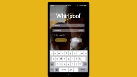 Thumbnail for entry Whirlpool® Smart Appliance App