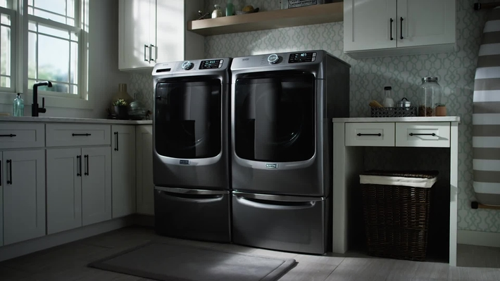 Fight Stains with the Extra Power Button on Maytag® Front Load Washers