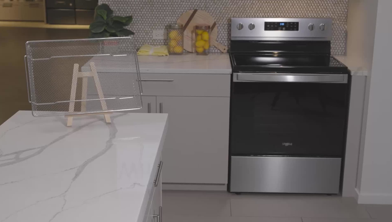 Product Overview: Whirlpool® Air Fry Ranges