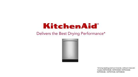 Thumbnail for entry KitchenAid Dishwasher vs Another Dishwasher - Drying