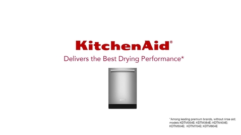 Thumbnail for entry KitchenAid Dishwasher vs Another Dishwasher - Drying