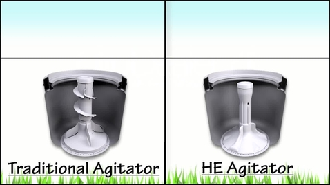 Thumbnail for entry Laundry - TRADITIONAL vs HE AGITATOR