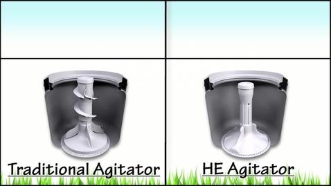 Thumbnail for entry Laundry - TRADITIONAL vs HE AGITATOR
