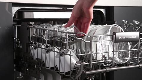Thumbnail for entry SatinGlide Upper Rack - KitchenAid Brand