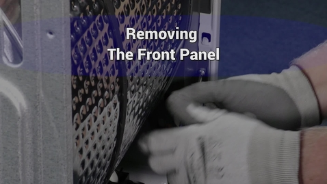Thumbnail for entry Compact Dryer Remove front panel