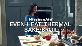 Thumbnail for entry Wall Oven - Thermal Bake - KitchenAid Brand