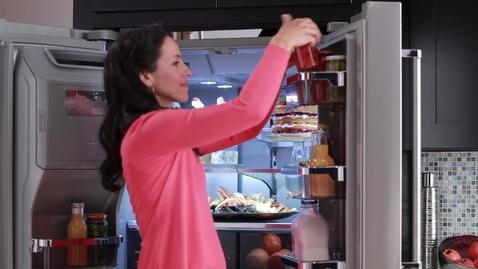 Thumbnail for entry Food Storage Options - KitchenAid®  5-Door Refrigeration
