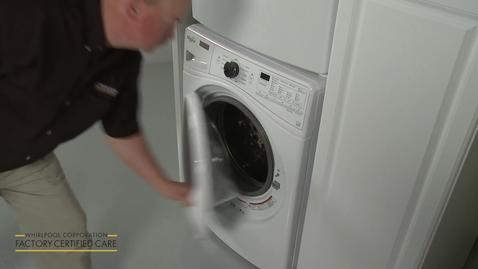 Thumbnail for entry Whirlpool Washer Dryer Stacking Kit Installation W10869845WFCC