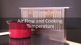 Thumbnail for entry Downdraft Venthood Airflow and Cooking Temperature