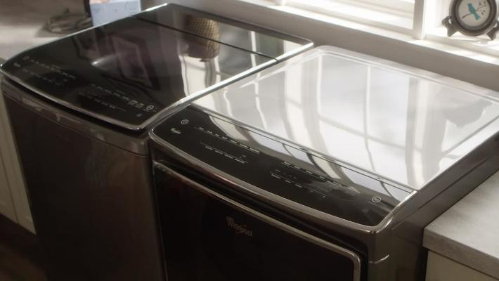 Intuitive Touch Front Controls  vs Traditional Dial Controls - Whirlpool Top Load Laundry
