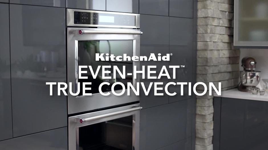 wall oven even heat true convection kitchenaid brand - Kitchen Aid Oven