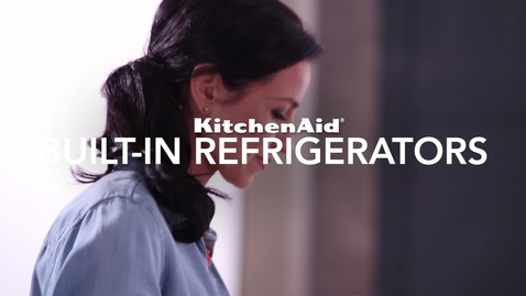 Thumbnail for entry Built-In Refrigerators Compilation - KitchenAid Brand