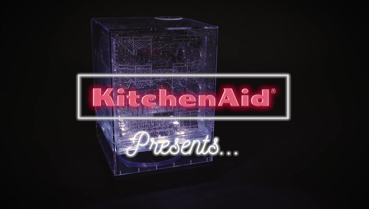 Fight tough soils with KitchenAid® Dishwashers