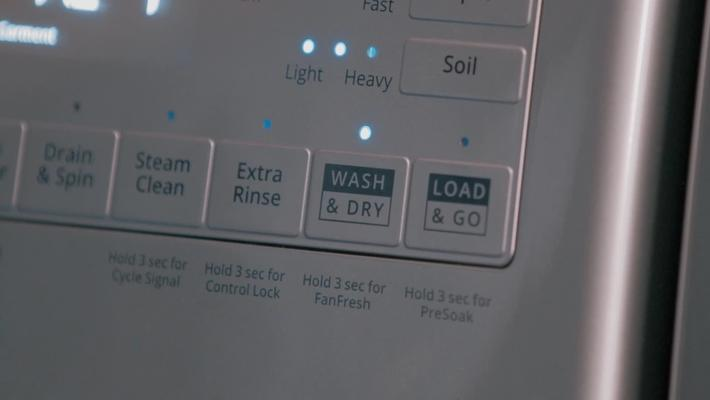 Wash & Dry Option - Whirlpool® Front Load Laundry