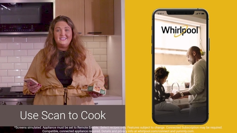 Thumbnail for entry Multitask with the updated Whirlpool® App in the kitchen