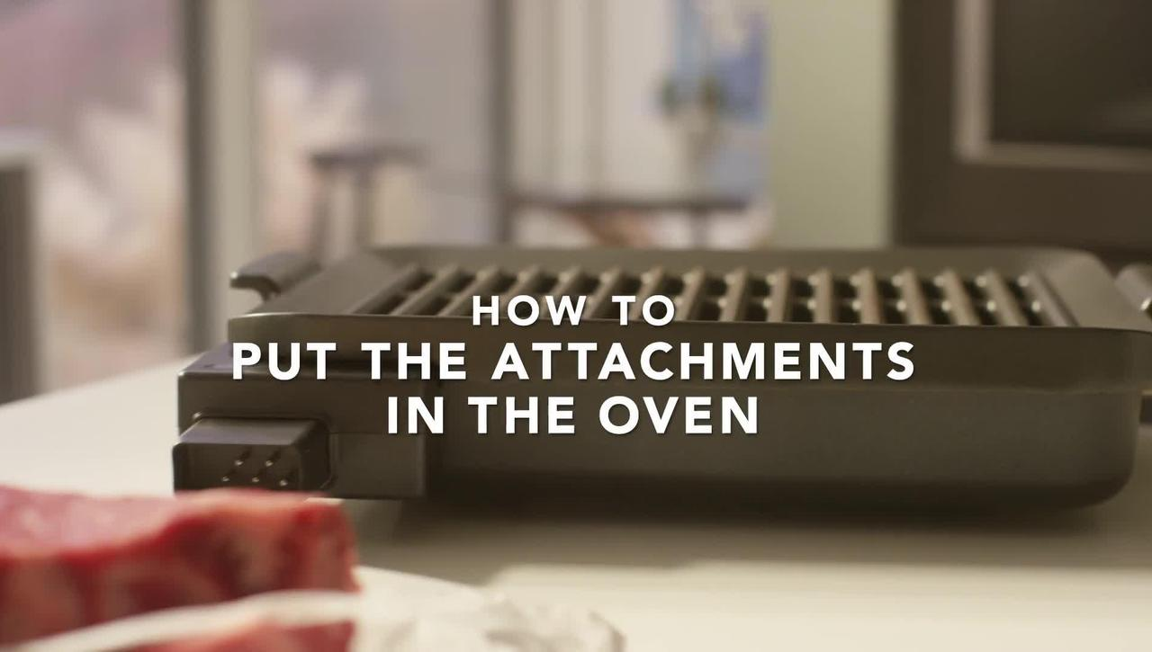 Assembling the KitchenAid® Smart Oven + Powered Attachment