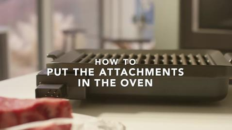 Thumbnail for entry Assembling the KitchenAid® Smart Oven + Powered Attachment