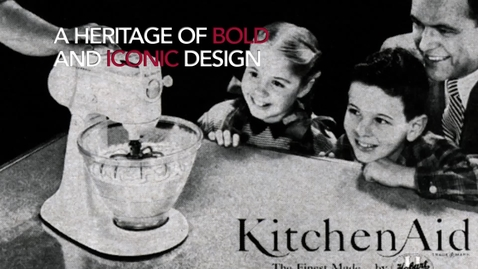 Thumbnail for entry KitchenAid 2015 Design