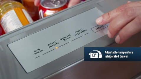 Thumbnail for entry Adjustable Temperature Refrigerated Drawer - Maytag Brand