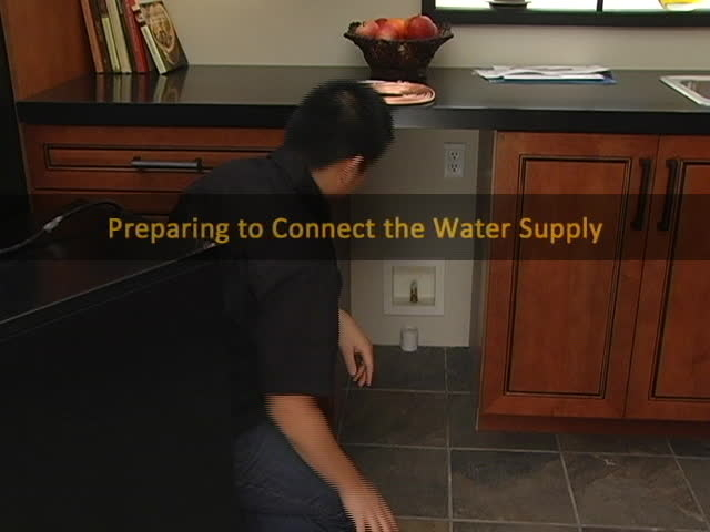 VIDEO: Ice Maker Installation - Part 3 - Connecting the Water Supply on