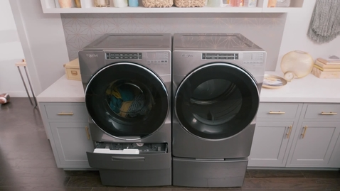 Thumbnail for entry Whirlpool® Load & Go™ Dispenser -  Front Load Laundry