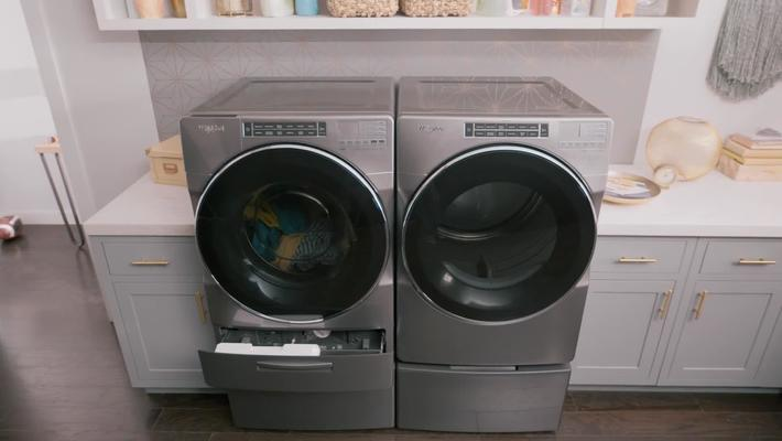 Whirlpool® Load & Go™ Dispenser -  Front Load Laundry