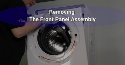 Remove Front Panel embly - LEARN Whirlpool Video Center on