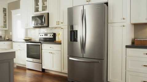 Thumbnail for entry Coolvox Kitchen Sound System - Whirlpool Refrigeration